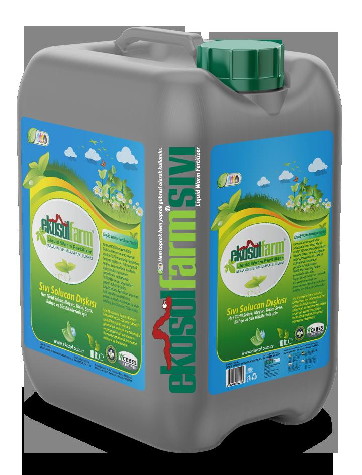 EkosolFarm Liquid Wormcastings 10 Liter
