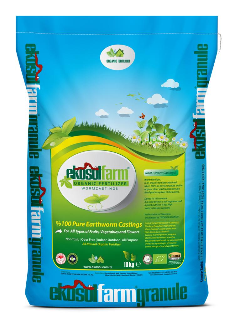 Vermicompost Fertilizer EkosolFarm