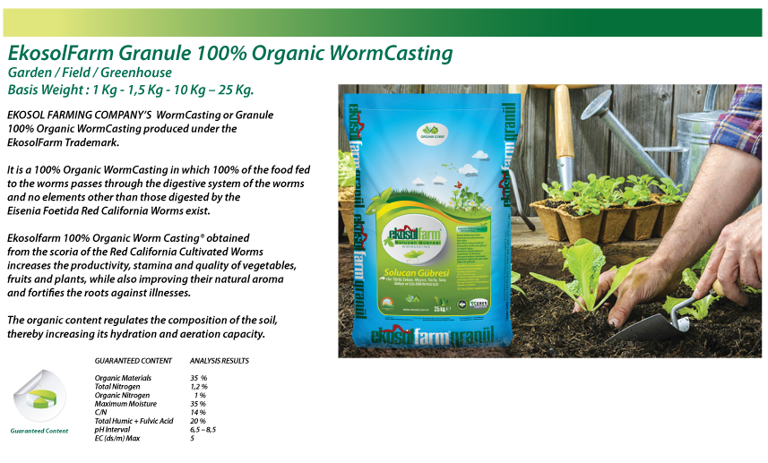 wormcastings products