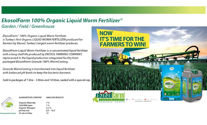 EkosolFarm liquid worm fertilizer