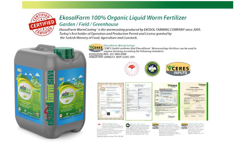 Liquid worm fertilizer worm extract